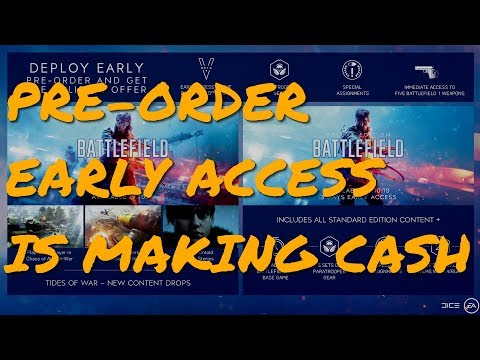 Expect More Pre-Order Early Access Releases (And Expect Them To Get Worse)