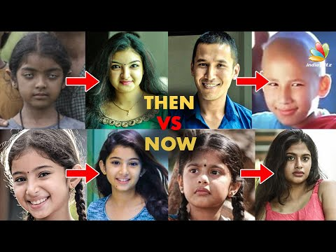Malayalam Actors Then & Now | Manjima Mohan, Kalidas Jayaram, Esther Anil, Shalini | Latest Video