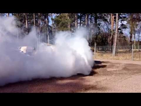 T-72 Tank smoke screen and fast acceleration