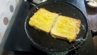 Egg Bread Toast Recipe in Tamil