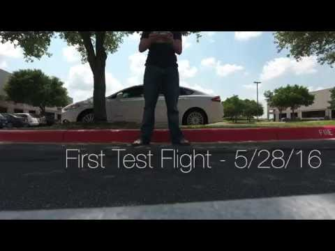 My Phantom 4's First Flight: Cisco Campus, Austin TX