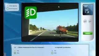 Code de la route - Micro application - Test de l'Examen final du code