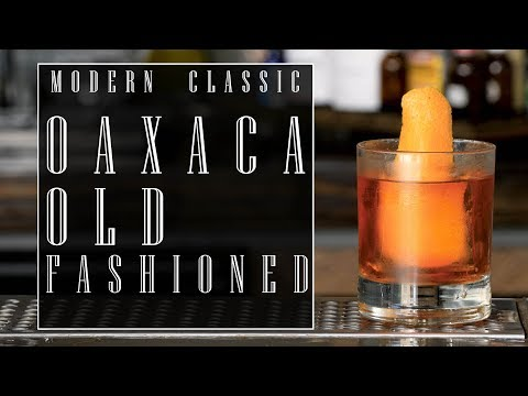 Modern Classic: Oaxaca Old Fashioned - National Tequila Day