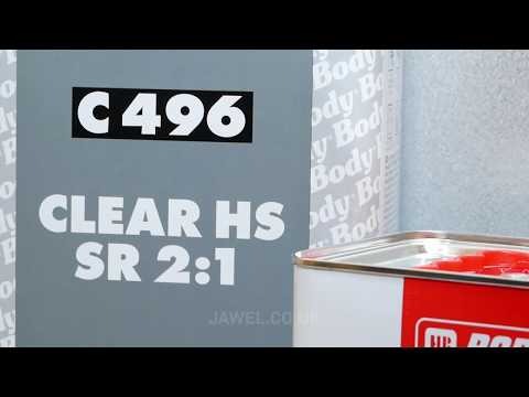 HB BODY C496 2K Acrylic HS Clear Lacquer