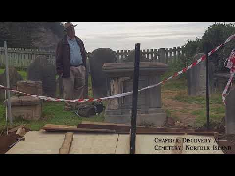 Cemetery Archaeological Discovery Norfolk Island