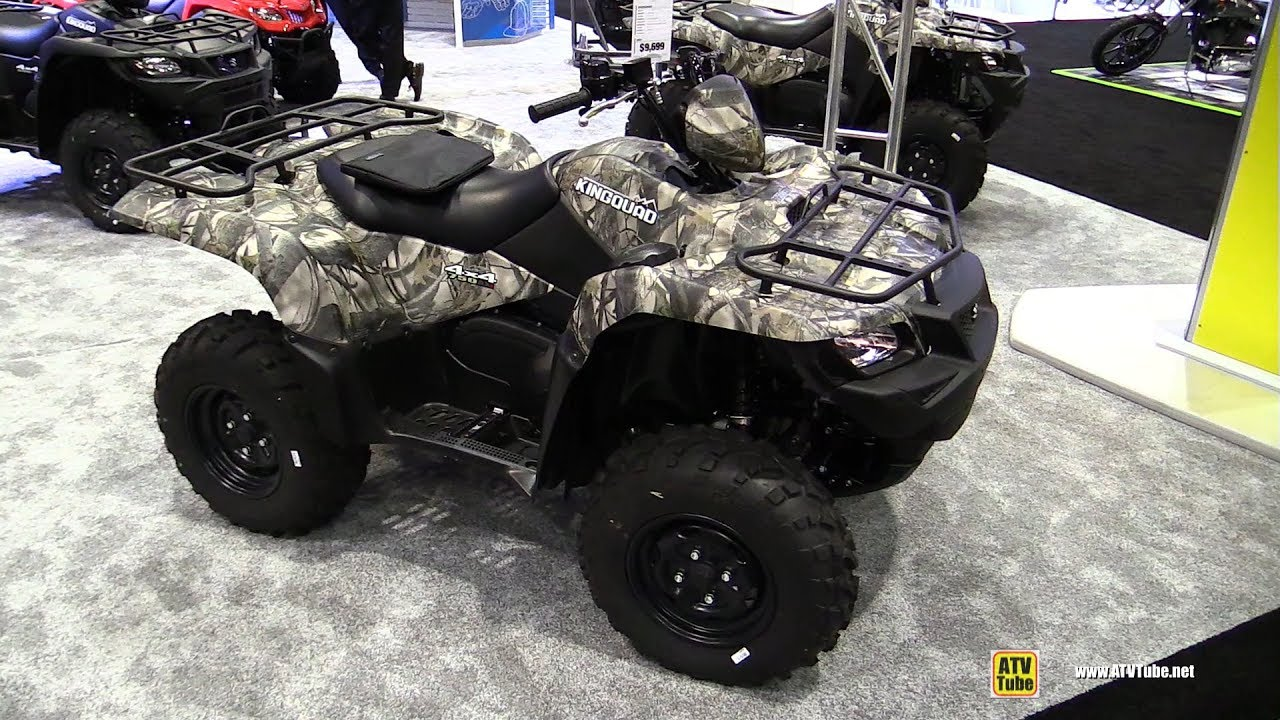 2017 suzuki king quad 750 recreational atv walkaround. Black Bedroom Furniture Sets. Home Design Ideas
