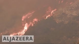 Santa Barbara threatened as California fires rages on thumbnail
