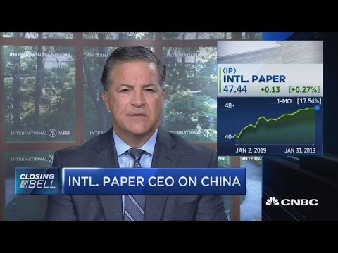We have a sustainable business model using renewable materials: International Paper CEO