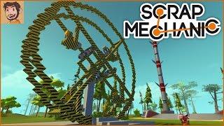 Building an EPIC Ferris Wheel! - Scrap Mechanic