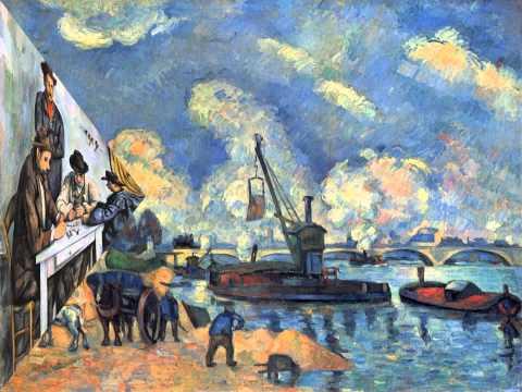 Cézanne peint  ( France Gall )