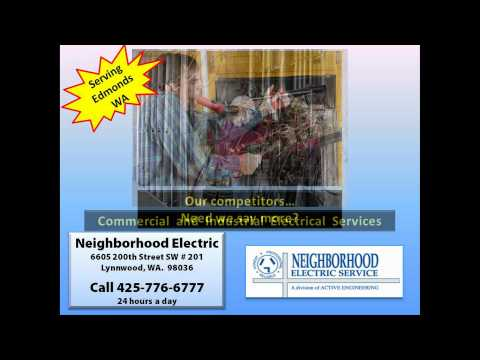 Electrician In Edmonds WA | 425-776-6777 | Electrical Contractor Edmonds WA