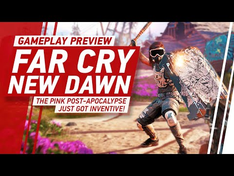 [4K] Far Cry New Dawn Gameplay: The Pink Post-Apocalypse Just Got Inventive! thumbnail