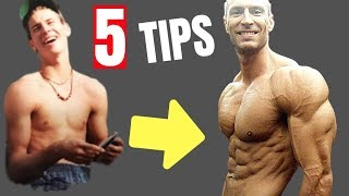 5 Tips Bulk Up Fast (Skinny Guys)