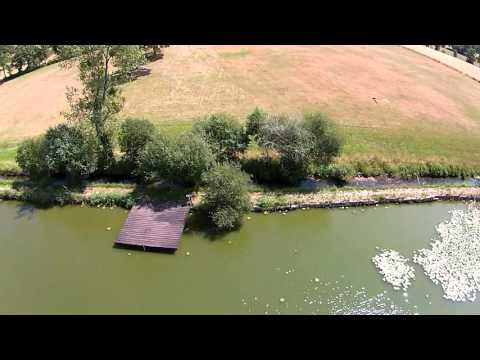 CARP FISHING IN FRANCE At Cavagnac Lake Swim By Swim