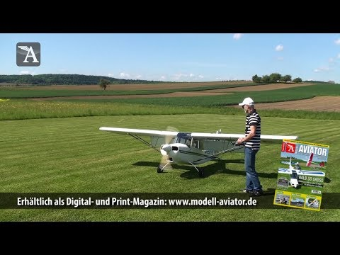 Großmodell in 1:2 und unter 25 Kilo - Eigenbau Citabria Explorer aus Modell AVIATOR
