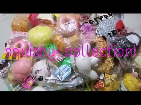 Squishy Ind : My squishy collection 2K16!! (Ind)KLS???? - YouTube