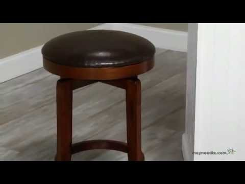 Hillsdale 25 Inch Brendan Backless Swivel Counter Stool Product
