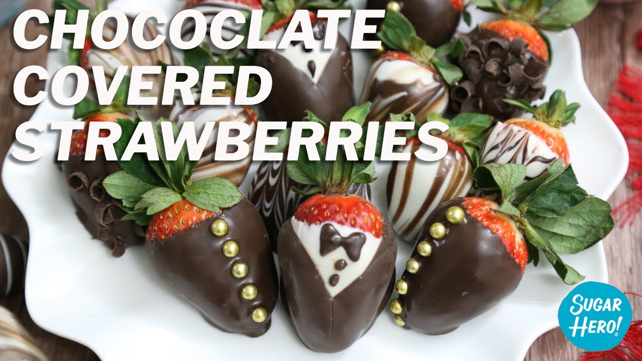 Chocolate Covered Strawberries Five Ways Sugarhero