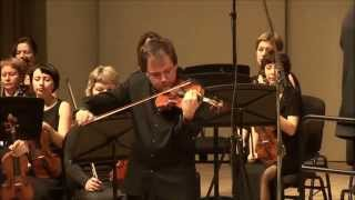Sergej Krylov plays Prokofiev - violin concerto №2.(I. Allegro moderato) UPO,conductor - Dmity Liss