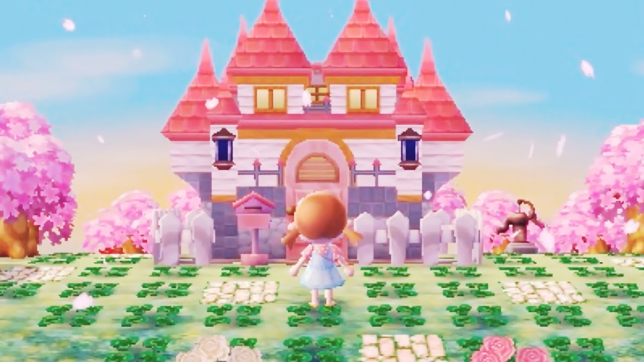 Pastelia Town Tour 🍑 Animal Crossing New Leaf Youtube