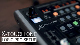 X-Touch One With Logic Pro - Part 1