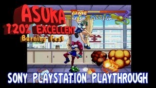 PLAYSTATION HD - Asuka 120% EXCELLENT - Complete Playthrough