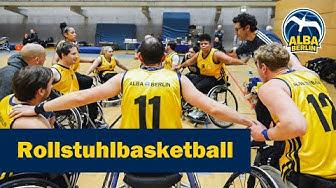 Die ALBA Rollis - So vielseitig ist Rollstuhlbasketball bei ALBA BERLIN