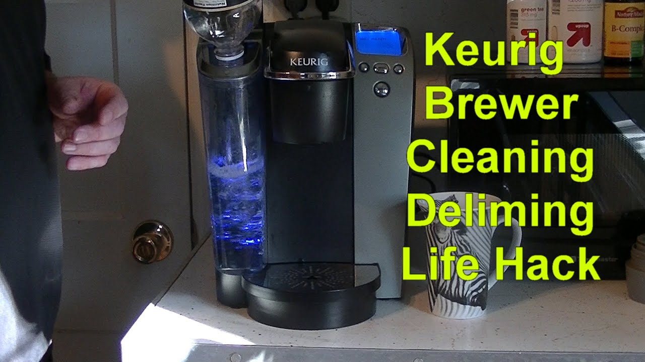 Keurig Coffee Maker Instructions For Descaling : Keurig Brewer Cleaning Descaling Life Hack Coffee Descale Keurig - YouTube