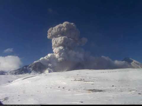 извержение вулкана безымянного онлайн