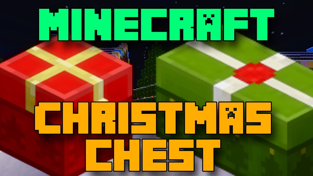 Minecraft Christmas Chest New Year - YouTube