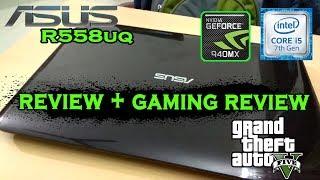 Asus r558uq gaming review