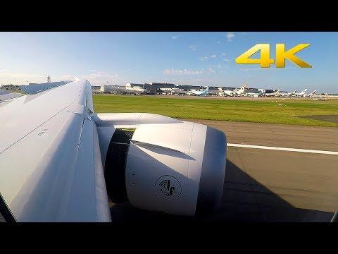 AIRFRANCE Boeing 787-9 STUNNING Approach & *HARD* Landing in London Heathrow!!