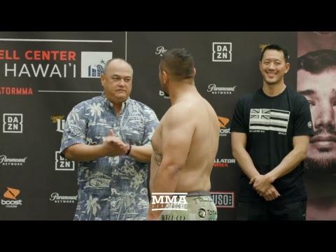 Bellator 212 Ceremonial Weigh-ins - MMA Fighting