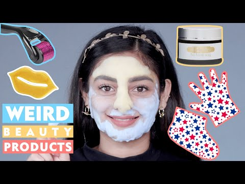 Weird Beauty Products You Must Try 2019 | Treasure or Toss