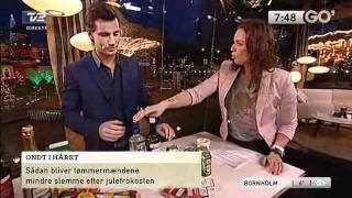 Bitz i Go' Morgen Danmark: Tømmermænd