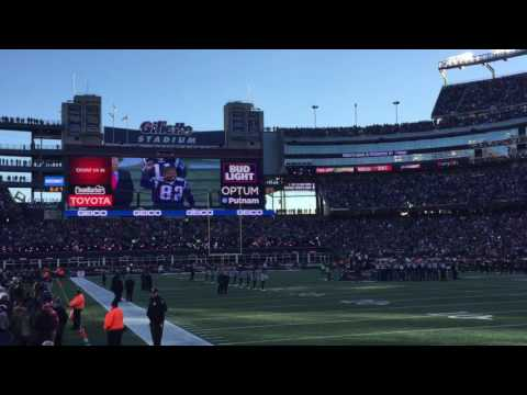 2001 Super Bowl Champions - New England Patriots Honored on 15th Anniversary