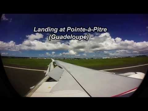 Air France's A320 From Port-au-Prince to Guadeloupe [Wingview]