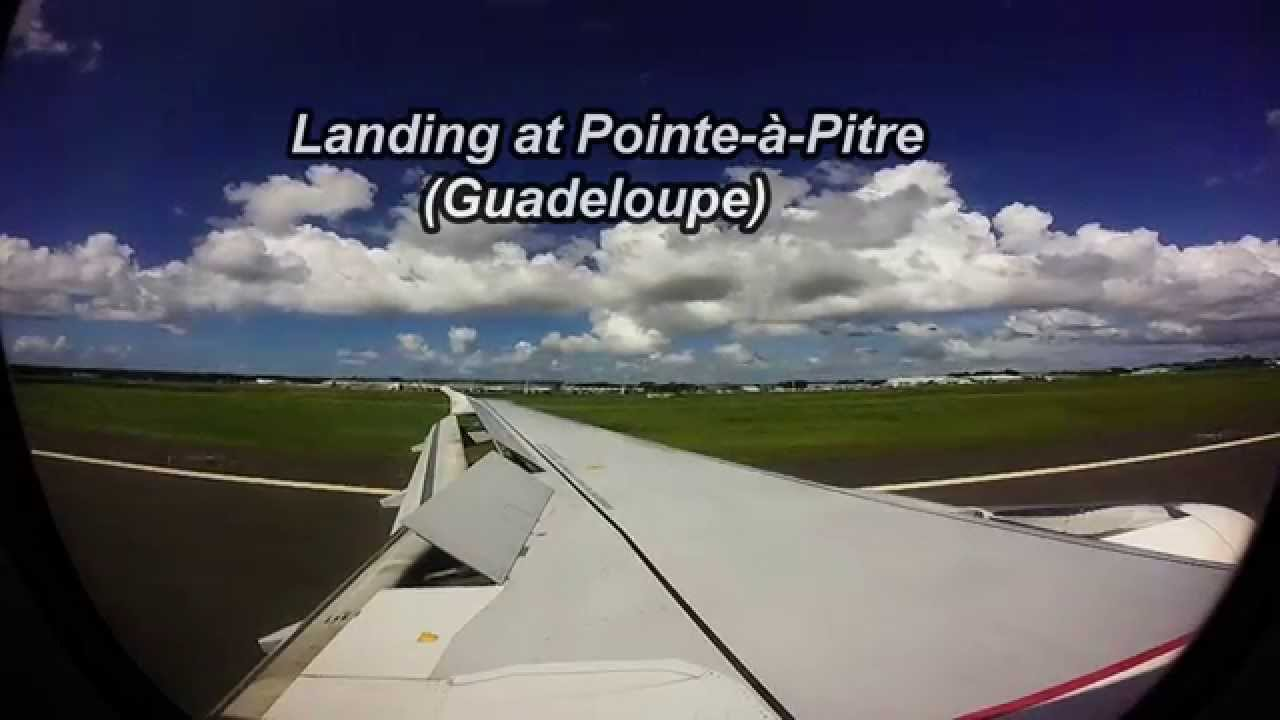 Air Frances A From PortauPrince To Guadeloupe Wingview YouTube - Vol paris port au prince