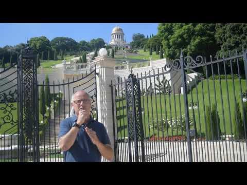 121-Haifa And Mount Carmel-Bahai Gardens