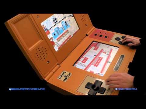 Game & watch donkey kong double screen format XXL !