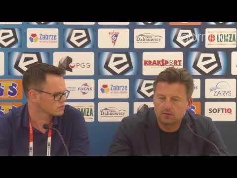 Górnik 1-1 Pogoń Szczecin. Konferencja prasowa: Kosta Runjaić (31.08.2018)