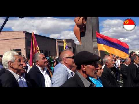 Yezidis in Armenia celebrating 4-th anniversary of the Yezidi temple