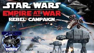 Star Wars: Empire at War. Rebel campaing longplay