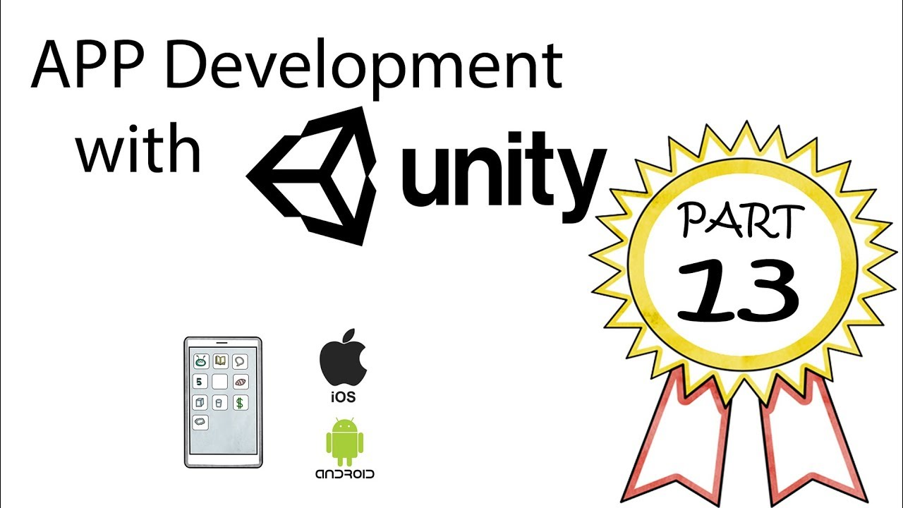 App Development with Unity Part 13 - Using the Content Size Fitter, layout  groups, and Anchors