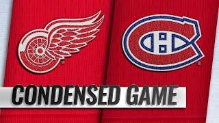 10/15/18 Condensed Game: Red Wings @ Canadiens