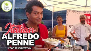 Italian Alfredo Penne Pasta- Food Truck Festival | ImmyCan