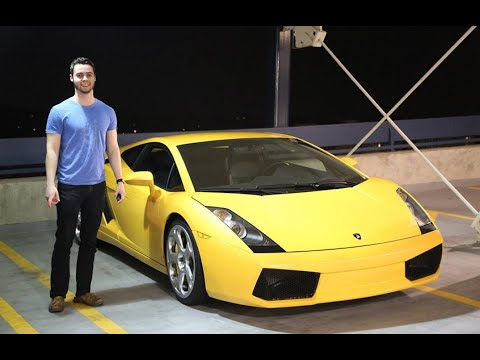 Buying My First Lamborghini At 20 Years Old - The Story