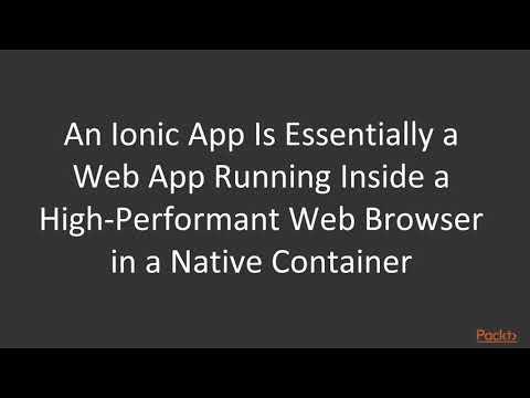 9 Understanding How An Ionic App Works   Understanding The Fil