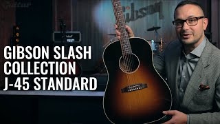 Demo: Does the Gibson Slash Collection J-45 Standard live up to the hype? #NAMM2020