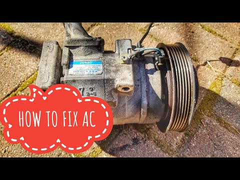 2004-2008 ACURA TL AC COMPRESSOR REPLACEMENT TUTORIAL